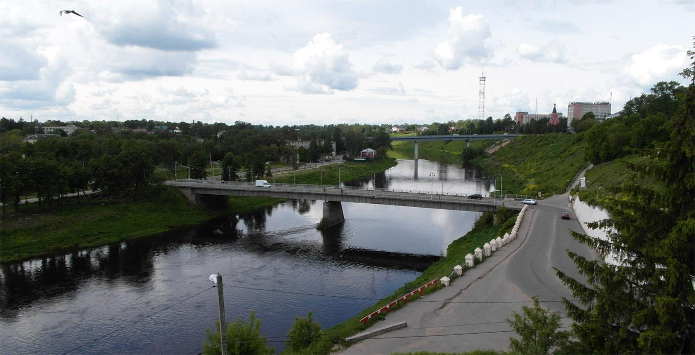 Река Волга Ржев