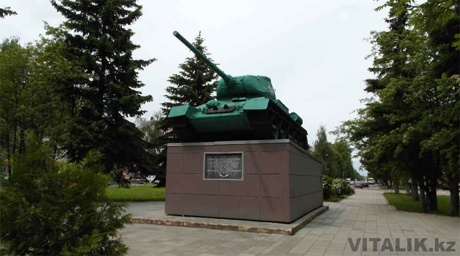 Танк Т34 Ржев
