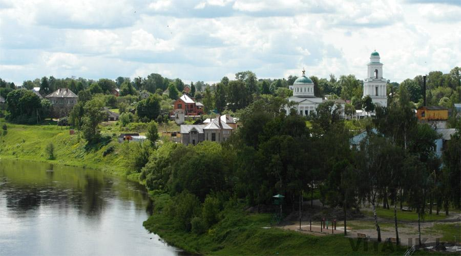 Церковь Волга Ржев