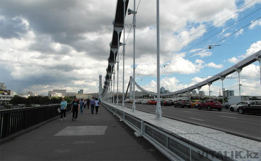 Крымский мост Москва