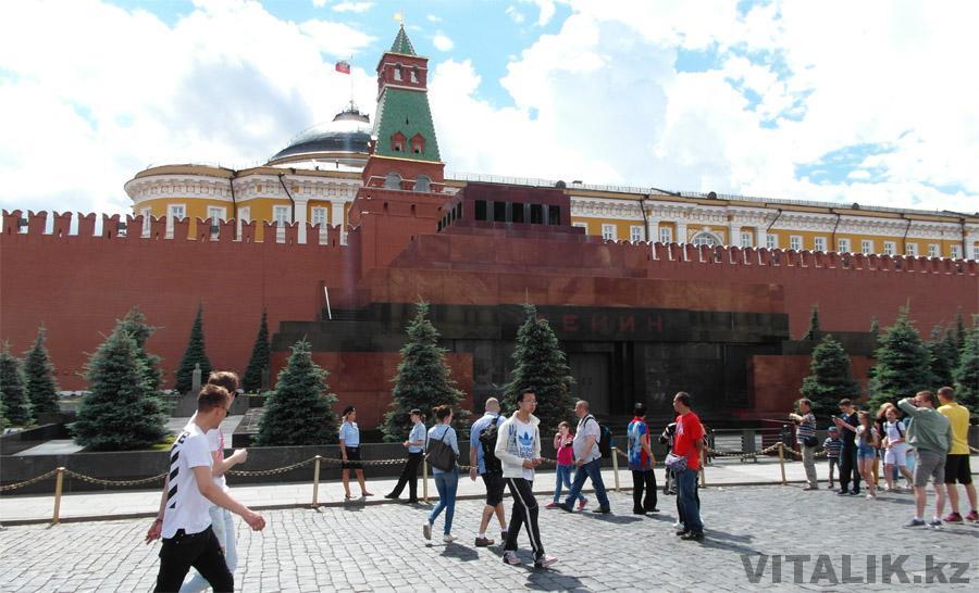 Мавзолей Ленина 2017