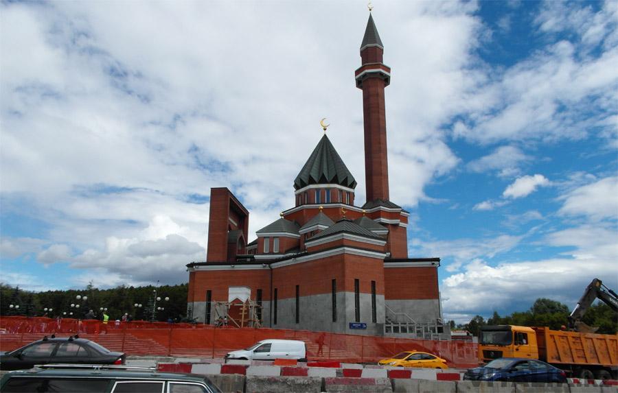 Мемориальная мечеть Парк Победы
