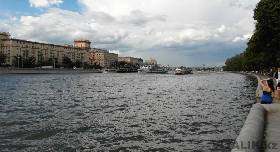 Москва Река Воробьёвы горы