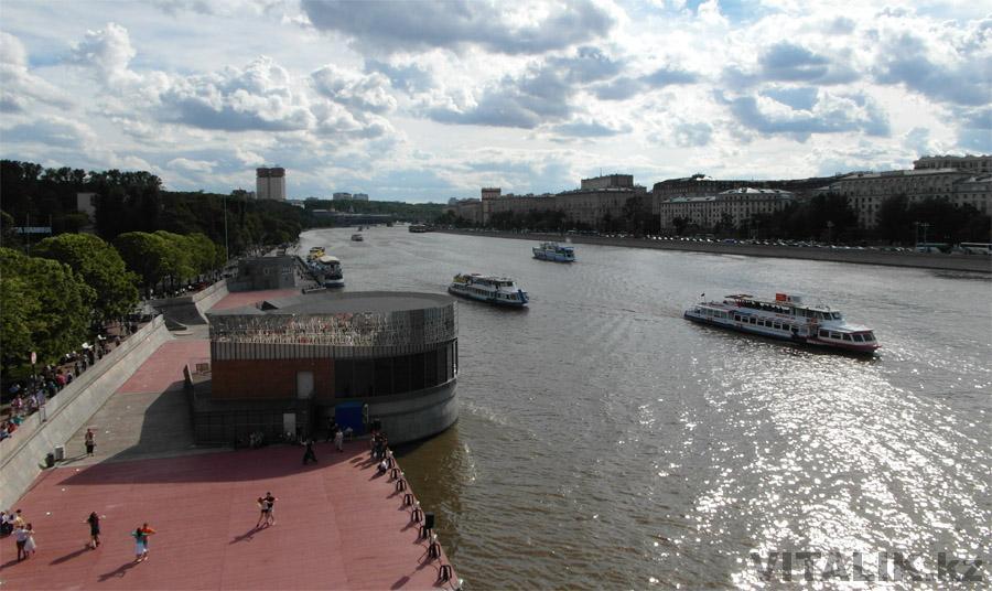 Москва река Парк Горького
