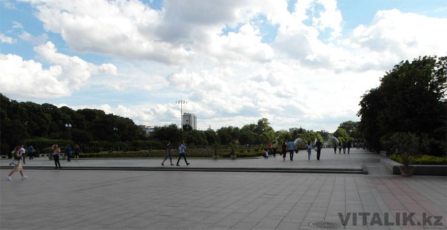 Парк Горького Москва вход