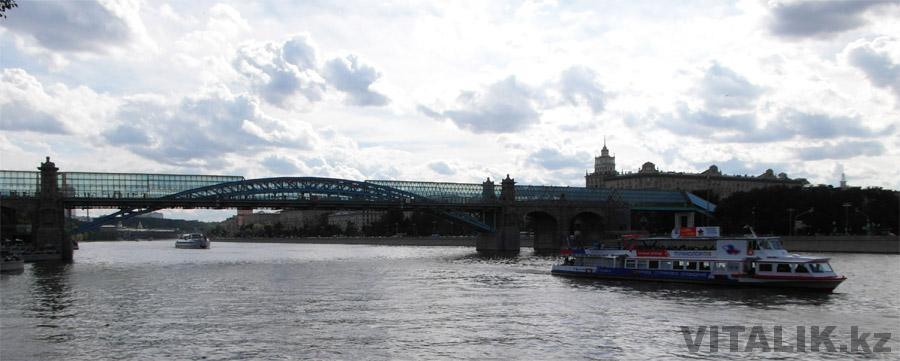 Стеклянный мост парк Горького