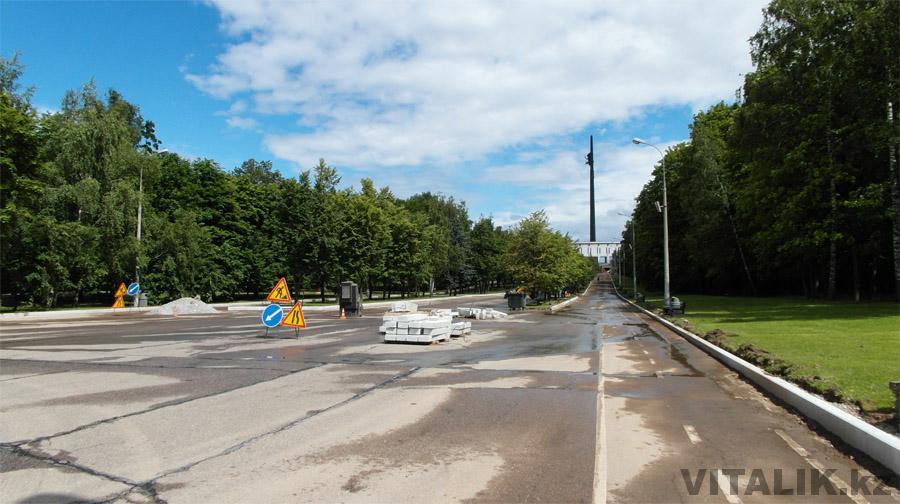 Стройка Парк Победы Москва