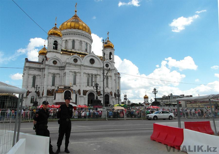 Храм Христа-Спасителя Москва