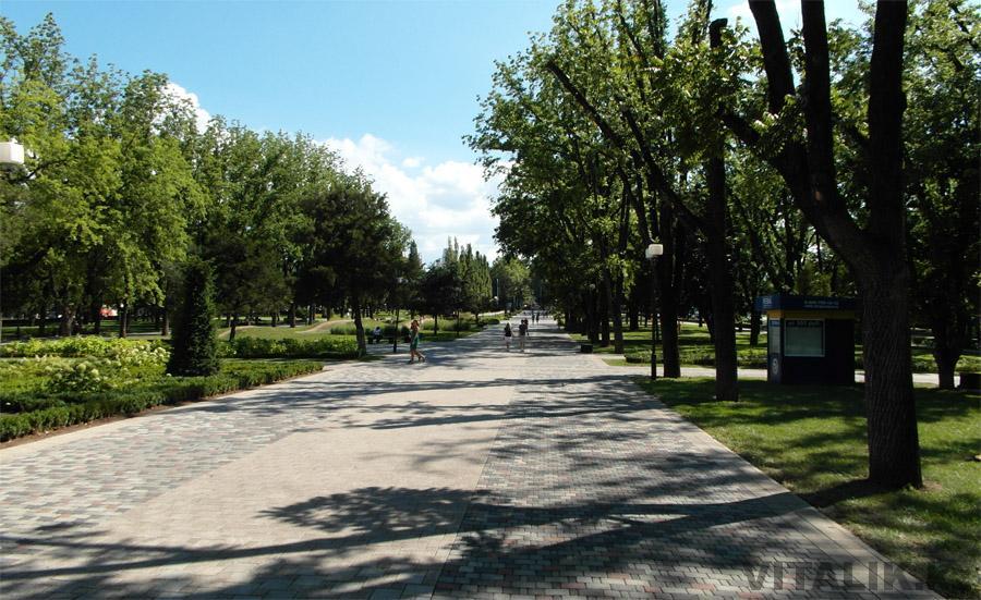 Аллея улица Красная