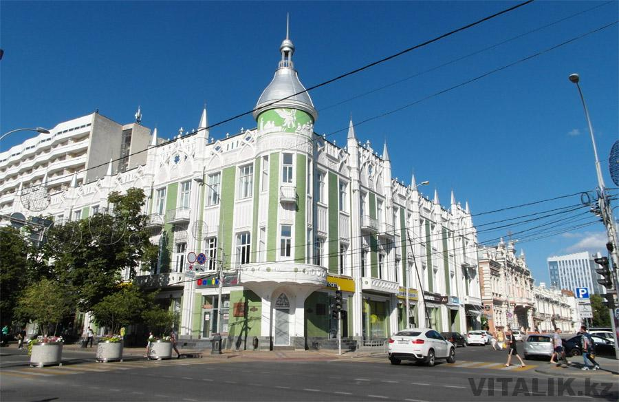 Здание на Красной