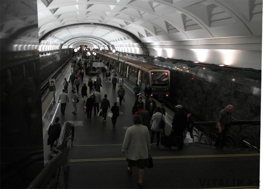 Московское метро Славянский Бульвар