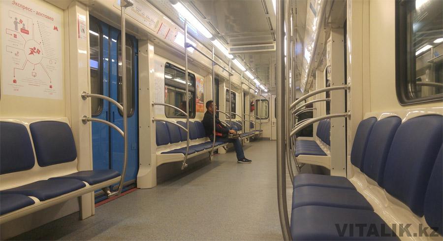 Новый вагон Метро Москва