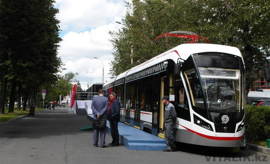 Новый трамвай Москва