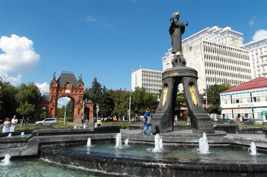 Памятник Святой Великомученицы Екатерины