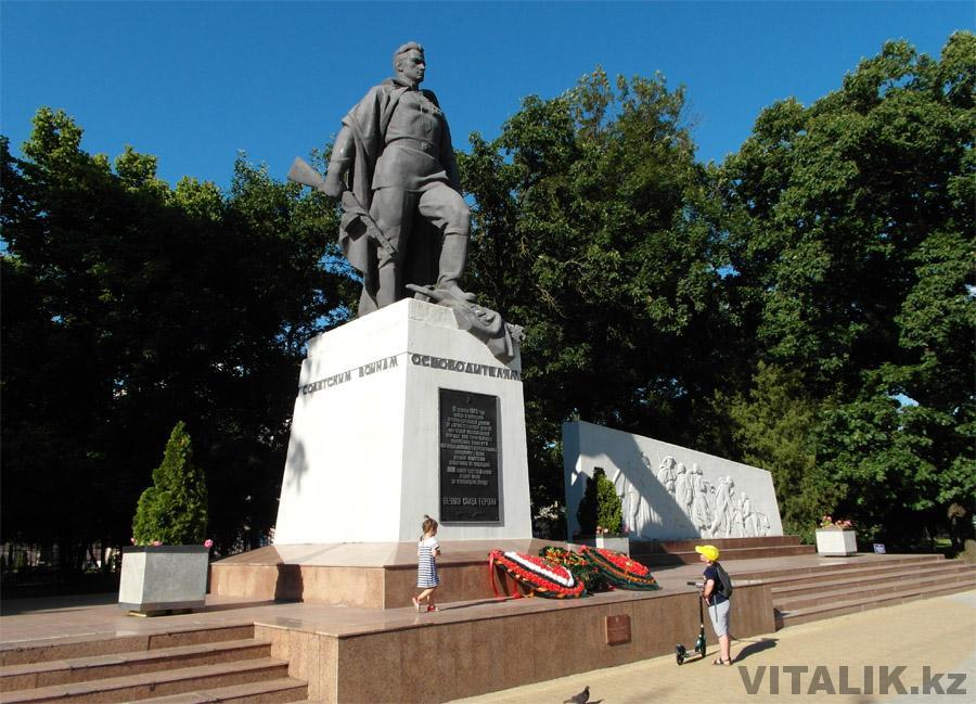 Памятник освободителям Краснодара