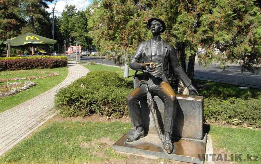 Памятник путешественнику Краснодар