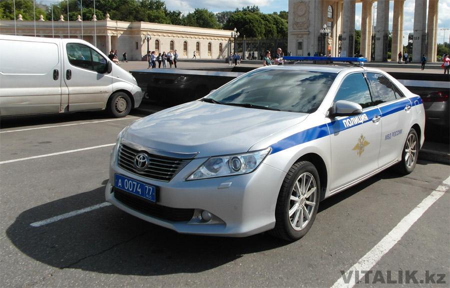 Полицейская Тойота Камри