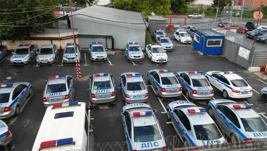 Полицейские форд фокус Москва