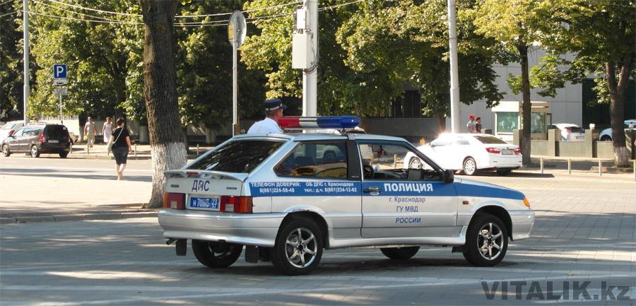 Полицейский ВАЗ 2113 Краснодар