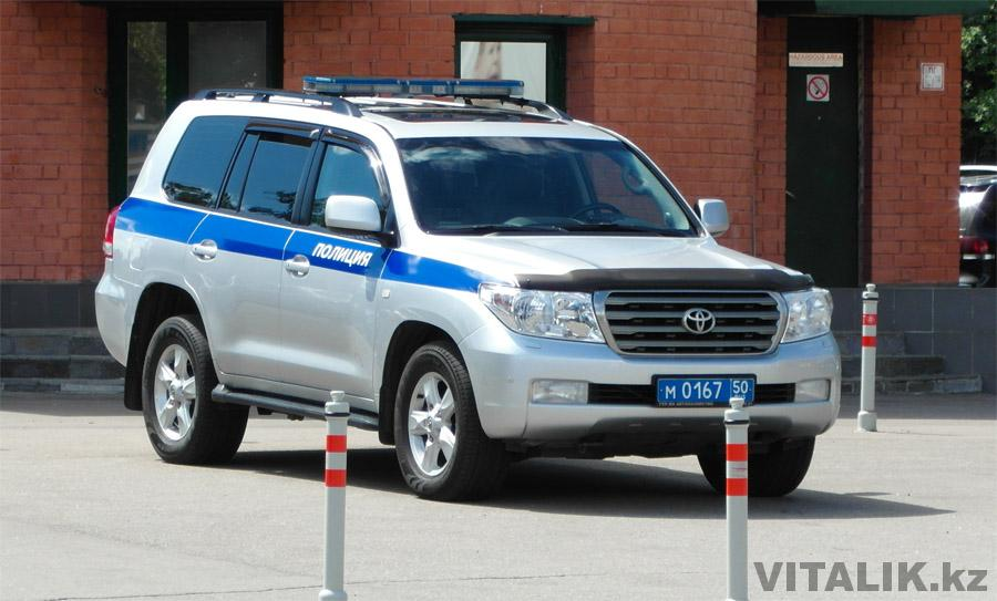 Полицейский TLC200 Москва