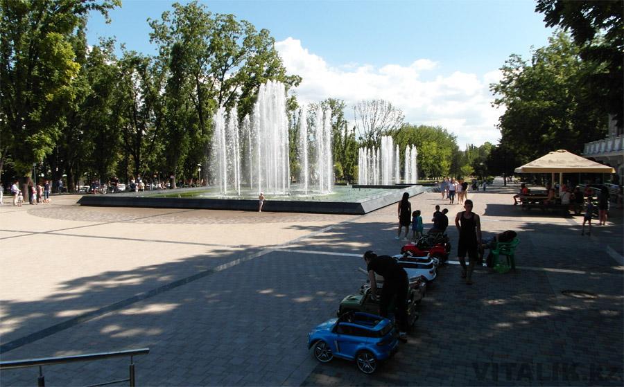 Поющий фонтан Краснодар