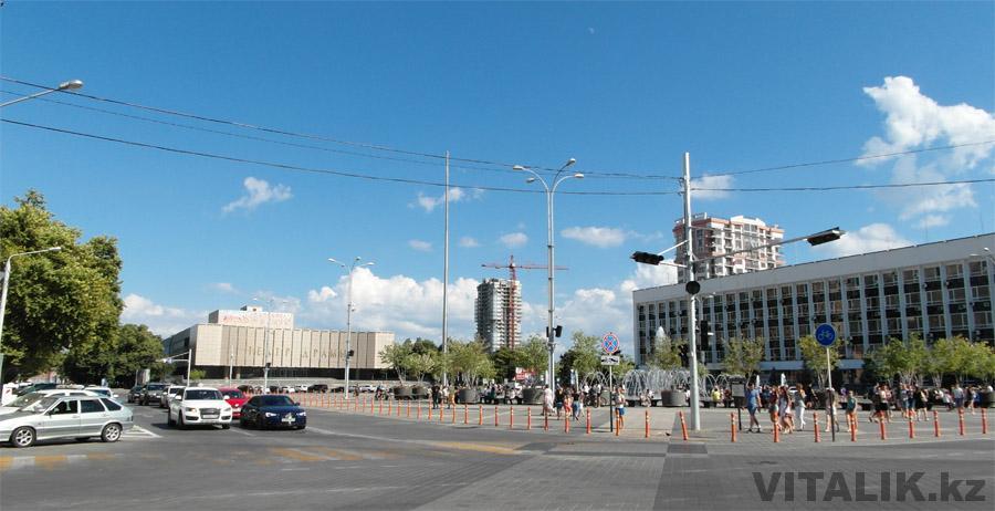 Театральная площадь Краснодар