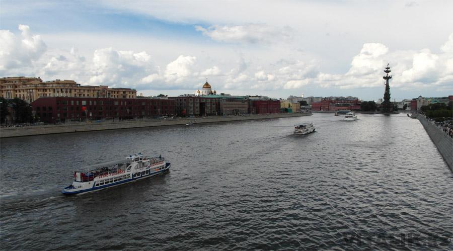 Теплоходы Москва Река
