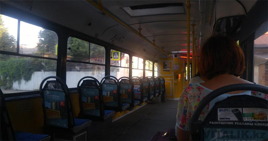 Трамвай изнутри