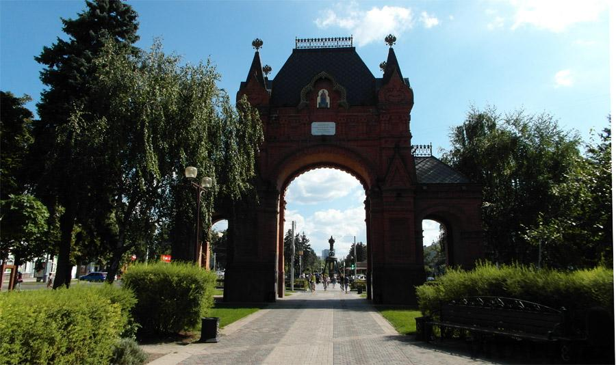 Триумфальная арка Краснодар