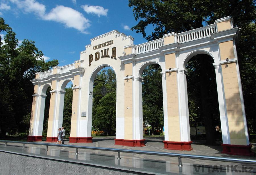 Чистяковская роща арка