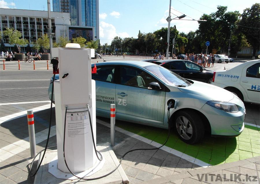 Электромобиль в Краснодаре