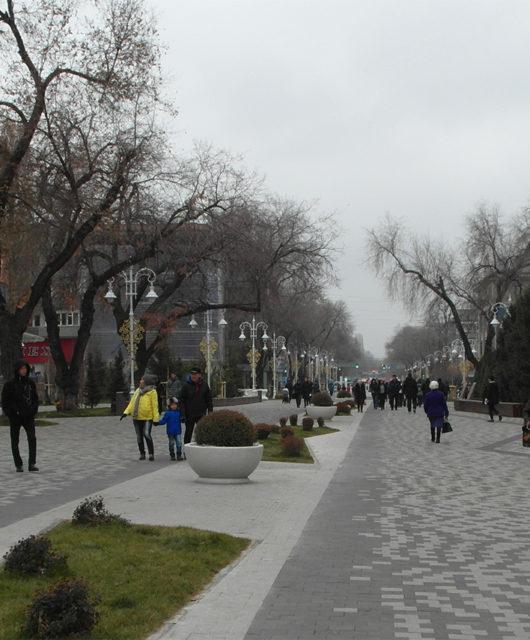 Арбат и ЦУМ в Алматы