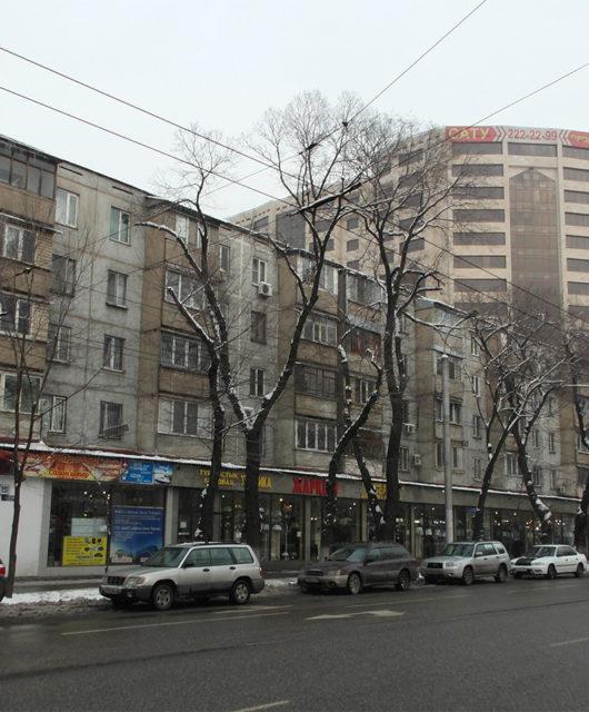 Улица Гоголя Алматы