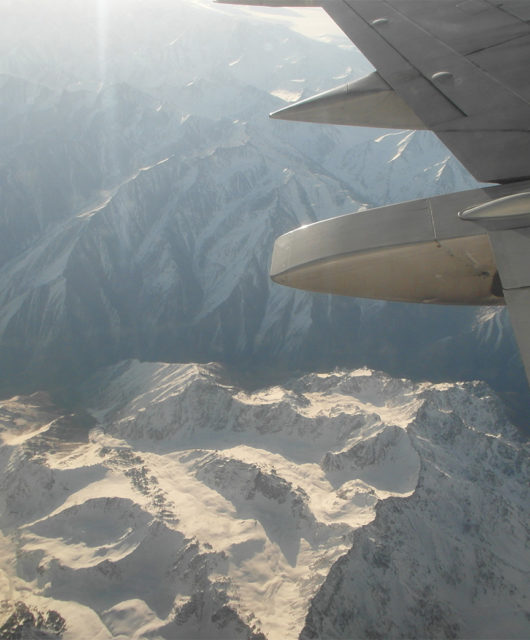 Перелет Бишкек Ош фотография гор