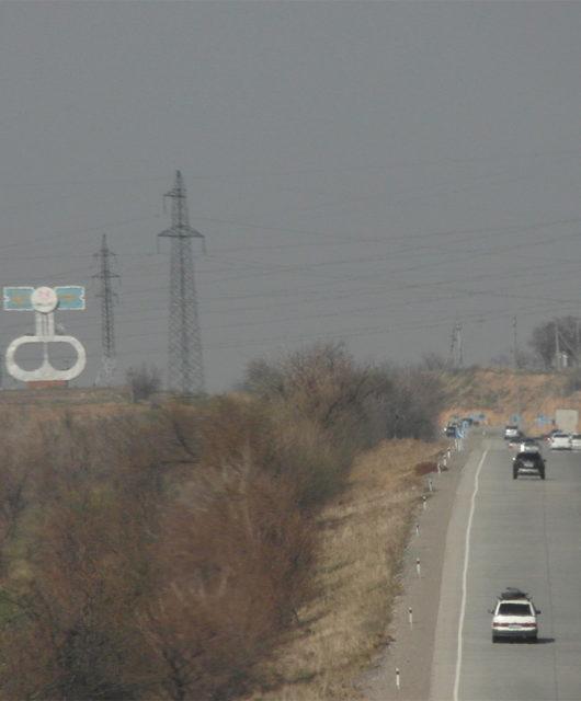 Дорога от Черняевки до Шымкента 2018