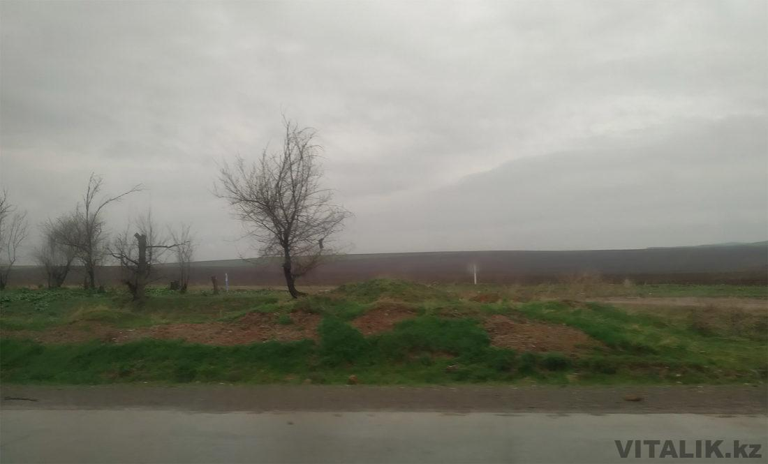 Дорога из Шымкента в Ташкент 2019