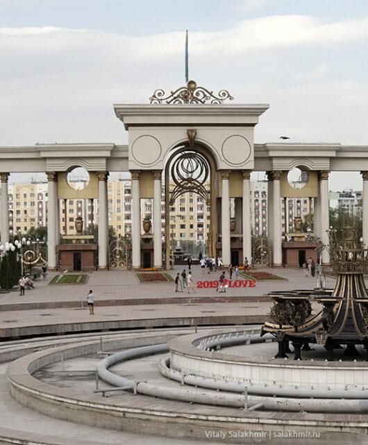 Парк Первого Президента Алматы 2019