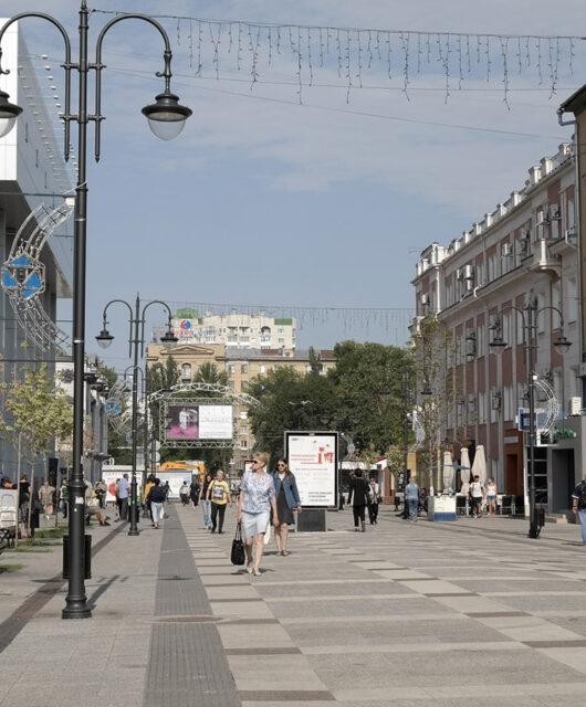Арбат набережная в Саратове 2020