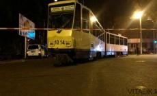 Еще один трамвай-ДТП. Алматы.