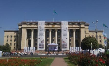 Выставка ретро автомобилей в Алматы 2016