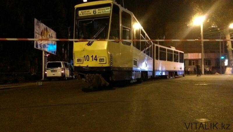 авария трамвай алматы