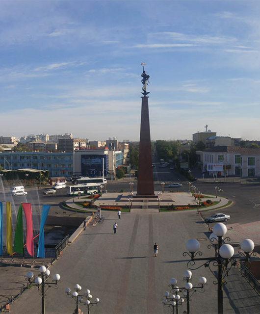 Шымкент площадь Ордабасы