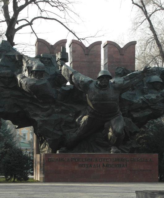 Парк 28 героев-панфиловцев Алматы 2017